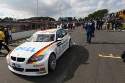 Jorg Muller, BMW Team Germany, BMW 320si WTCC sur la grille