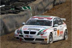 Alex Zanardi, BMW Team Italy-Spain, BMW 320si WTCC in the gravel trap