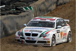 Alex Zanardi, BMW Team Italy-Spain, BMW 320si WTCC in the gravel trap