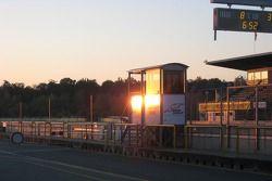 Coucher de soleil sur Brno