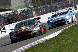 #22 Aston Martin Racing BMS Aston Martin DB9: Enrico Toccacelo, Ferdinando Monfardini