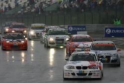Tour de formation: #262 Motorsport Arena Oschersleben BMW 120d: Nils Tronrud, Anders Burchardt, Arne Berg, Stian Sorlie
