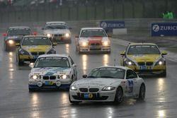 Tour de formation: #208 Schirra-Motoring / Krah & Enders BMW Z4 Coupe: Peter Enders, Markus Österre