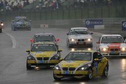 Tour de formation: #216 Black Falcon BMW 392 C: Heiko Hedemann, Ralf Willems, Martin Elzer, Evaldo Ghaleb