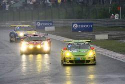 Tour de formation: #1 Manthey Racing Porsche 911 GT3 RSR: Timo Bernhard, Marc Lieb, Romain Dumas, Marcel Tiemann