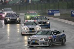 Tour de formation: #97 Team DMV e.V. Hyundai Coupe V6: Jürgen Schumann, Peter Schumann, Christian Hohenadel
