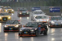 Tour de formation: #80 Live-Strip.com Racing BMW M3: Frank Jelinski, Rudi Seher, Karlheinz Grüner
