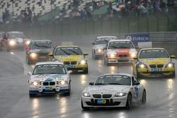 Tour de formation: #208 Schirra-Motoring / Krah & Enders BMW Z4 Coupe: Peter Enders, Markus Österreich, Peter Enders Jr., Henry Walkenhorst