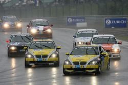 Tour de formation: #216 Black Falcon BMW 392 C: Heiko Hedemann, Ralf Willems, Martin Elzer, Evaldo Ghaleb