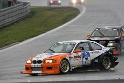 Départ: #71 Luigi Taverna Racing & Classic BMW M3 E46: Valerio Leone, Giorgio Piodi, Giuliano Bottaz