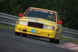 #206 Berg-Cup e.V. Mercedes 190E 2,5-16: Andreas Schettler, Dirk Roth, Thomas Mautner