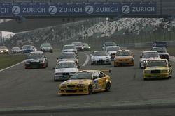 Redémarrage: #82 MSC-Rhön BMW M3 E46: Christian Leutheuser, Torsten Krey, Christian Schmidt, Harald