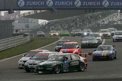 Redémarrage: #276 BMW 335d: Henning Meyersrenken, Bernd Albrecht, Norman Starke