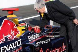 Bruno Senna, Arden International avec Bernie Ecclestone