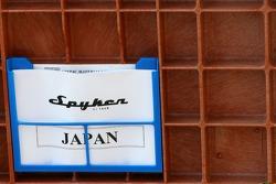 Equipe Spyker F1, case de transport