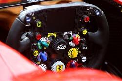 Scuderia Ferrari steering wheels detail