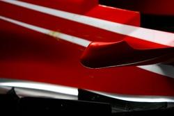 Scuderia Ferrari, F2007, Barge board detail