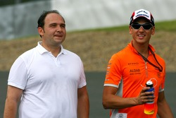 Colin Kolles, Spyker F1 Team, Team Principal, Adrian Sutil, Spyker F1 Team