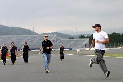 Vitantonio Liuzzi, Scuderia Toro Rosso and Sebastian Vettel, Scuderia Toro Rosso