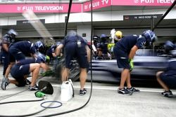Williams F1 Team pit stop practice