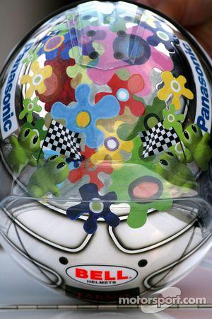 Jarno Trulli, Toyota Racing yeni, kask design