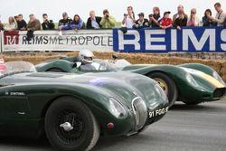 Jaguar Typec et Lister Chevrolet