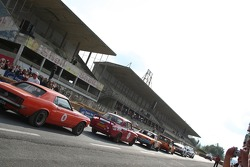 Old grandstands remain 'old'