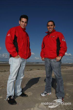 Char à voile: Chris Alajajian, pilote A1 Equipe du Liban et Khalil Beschir, pilote A1 Equipe du Liban