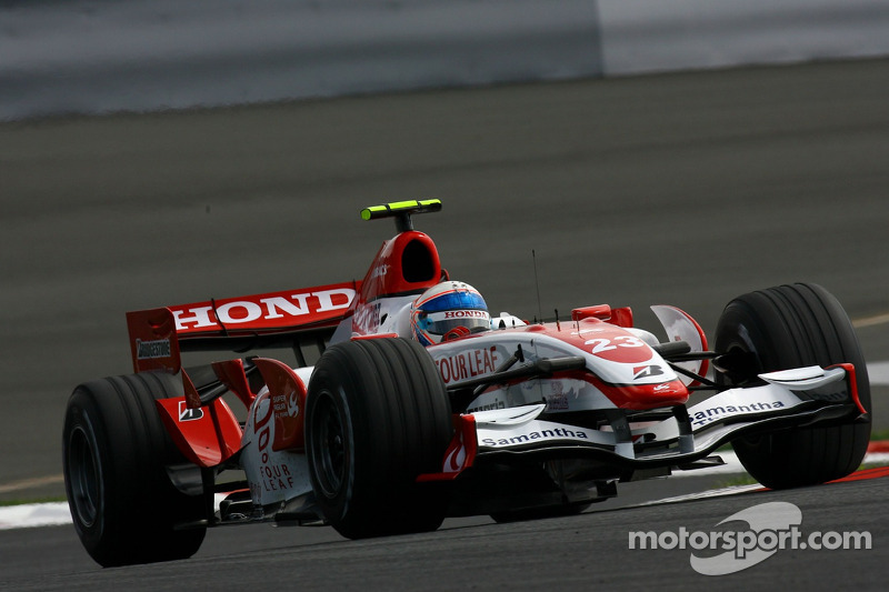 #23: Anthony Davidson, Super Aguri F1 Team, SA07