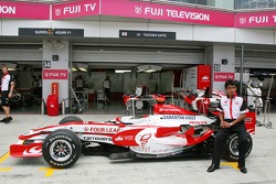 Super Aguri F1 Team, new livery, Aguri Suzuki, Super Aguri F1