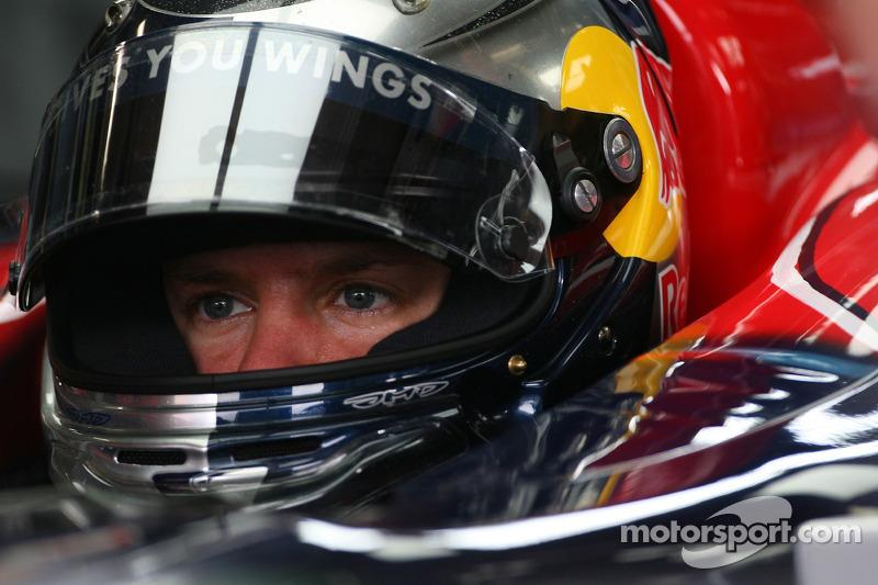 Sebastian Vettel en el GP de Japón 2007 (Toro Rosso)