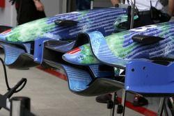 Honda Racing F1 Team, détail nez de cone