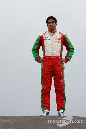 Salvador Duran, pilote A1 Equipe du Mexique