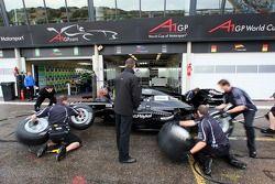 Entrainement aux arrêts au stand pour A1 Equipe de Nouvelle Zélande