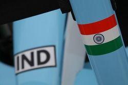 A1 Equipe d'Inde cône de nez