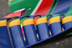 Capot moteur A1 Equipe d'Afrique du Sud