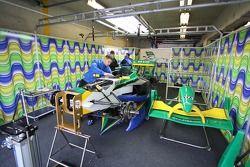 Garage A1 Equipe du Brésil