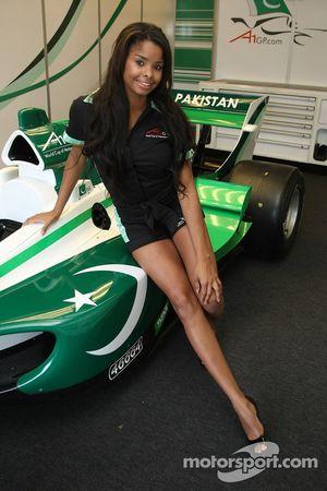 Jeune femme A1 Equipe du Pakistan