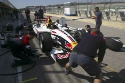 The Art mechanics practice pit stops