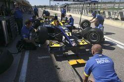 The Super Nova mechanics practice pit stops