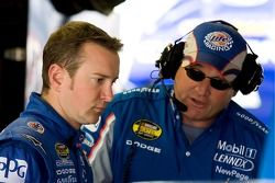 Kurt Busch et Pat Tryson
