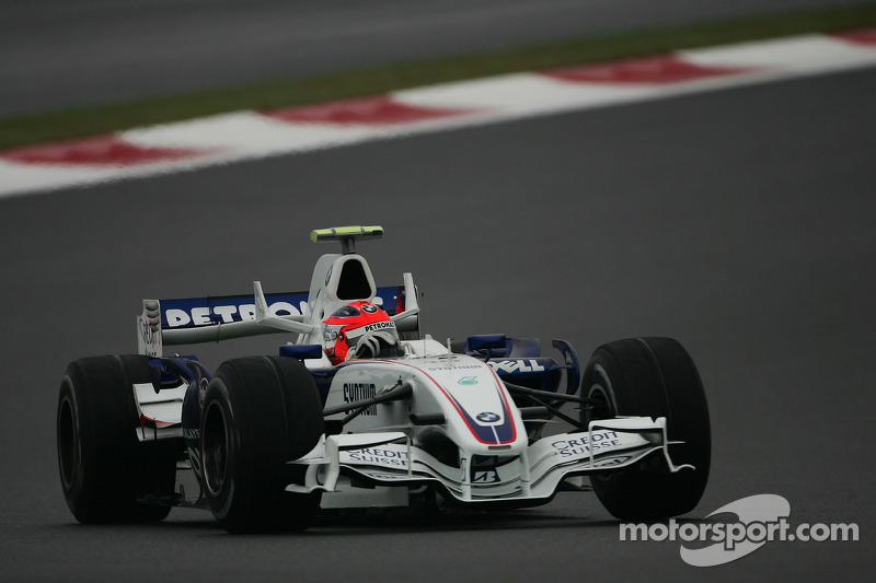 Robert Kubica, Grand Prix Japonii 2007