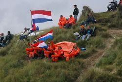 Fans dans les dunes