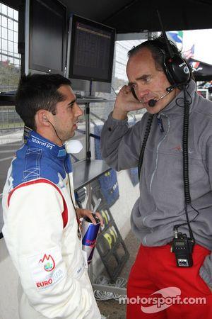 Neel Jani, pilote A1 Equipe de Suisse avec Max Welti, titulaire du siège de l'écurie A1 Suisse