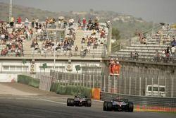 Bruno Senna leads Andreas Zuber
