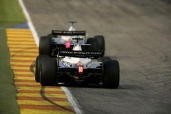 Vitaly Petrov leads Giorgio Pantano