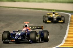 Javier Villa leads Mike Conway