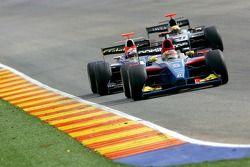 Timo Glock leads Javier Villa