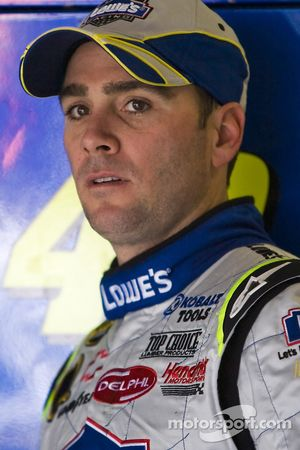 Jimmie Johnson après son accident