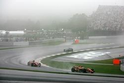 Sakon Yamamoto, Spyker F1 Team, Felipe Massa, Scuderia Ferrari